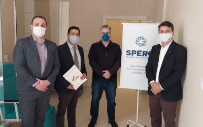 IPÊ Saúde e Spero Centro de Oncologia assinam termo para atendimento no Hospital Beneficência Portuguesa