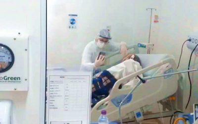 Videochamada hospitalar emociona, aproxima e auxilia na autoestima e recuperação de pacientes